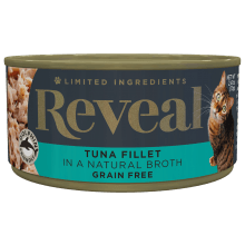 Tuna Fillet in Broth Can - 2.47oz