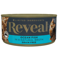 Ocean Fish in Broth Can - 2.47oz