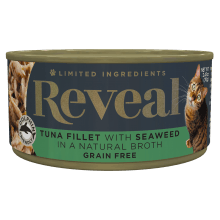 Tuna with Seaweed in Broth Can - 2.47oz