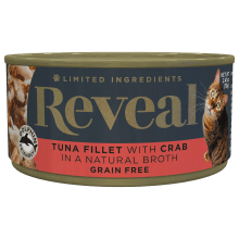 Tuna with Crab in Broth Can - 2.47oz