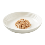 Isolated image of Reveal tuna cat food with crab on plate