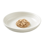 Isolated image of Reveal sardine cat food with mackerel on plate