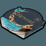 Photo of a Reveal Sardine cat food with mackerel pot